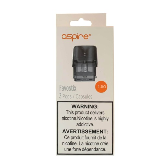 ASPIRE FAVOSTIX REPLACEMENT PODS WITH COILS 3PCS