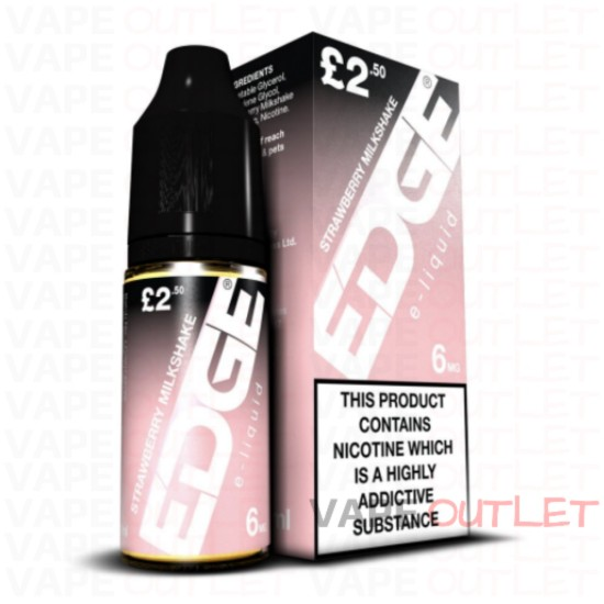 EDGE Eliquid STRAWBERRY MILKSHAKE