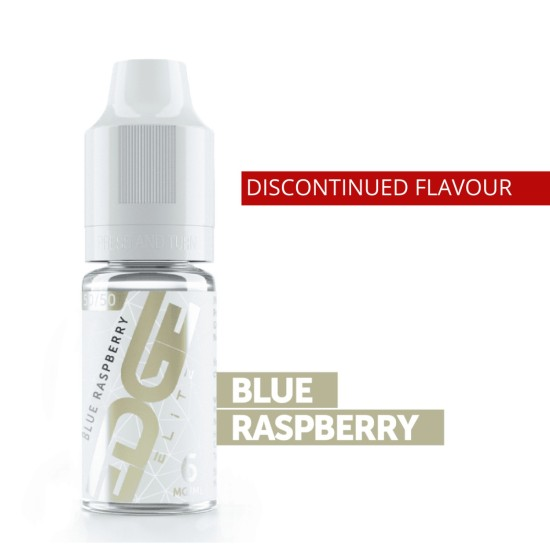 EDGE ELITE Eliquid BLUE RASPBERRY 10ML (Discontinued)