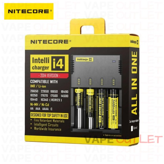 NITECORE Intelligent i4 Battery Charger